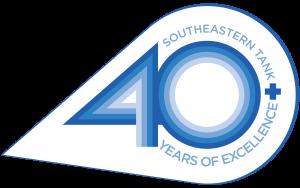 Southeastern Tank 40th Anniversary Logo
